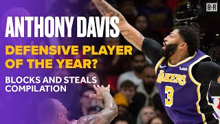 Is Anthony Davis the Defensive Player of the Year? | AD's Top Blocks and Steals | Lakers Highlights