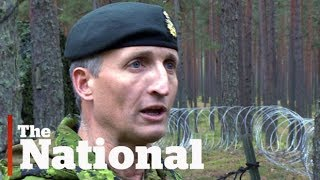 Canada in Latvia: Troops stage first major exercises
