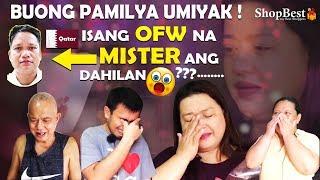 Mister OFW sa Qatar pinaiyak ang kanyang misis at buong pamilya sa kanyang sweet na sweet surprise