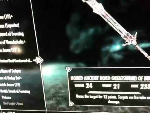 Skyrim Red Eagle Sword