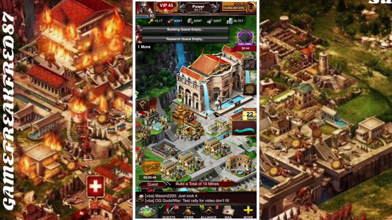 """Download Game of War: WTF MZ!!!! Must Watch"""" This changes EVERYTHING!!!"""