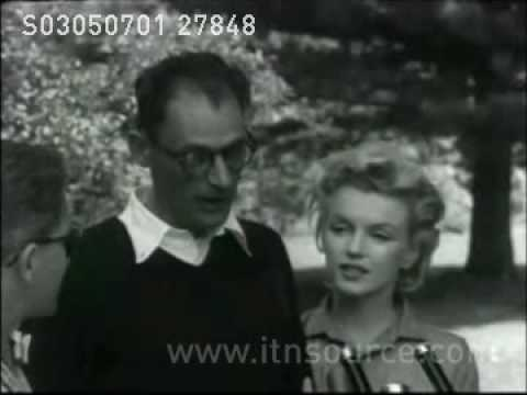 Marilyn Monroe and Arthur Miller  interview June 1956  Roxbury