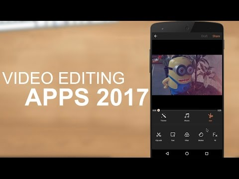 TOP 10 Best Video Editing Apps For Android 2017