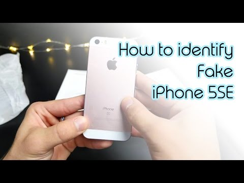 Fake iPhone: How to Find a Fake iPhone 5SE