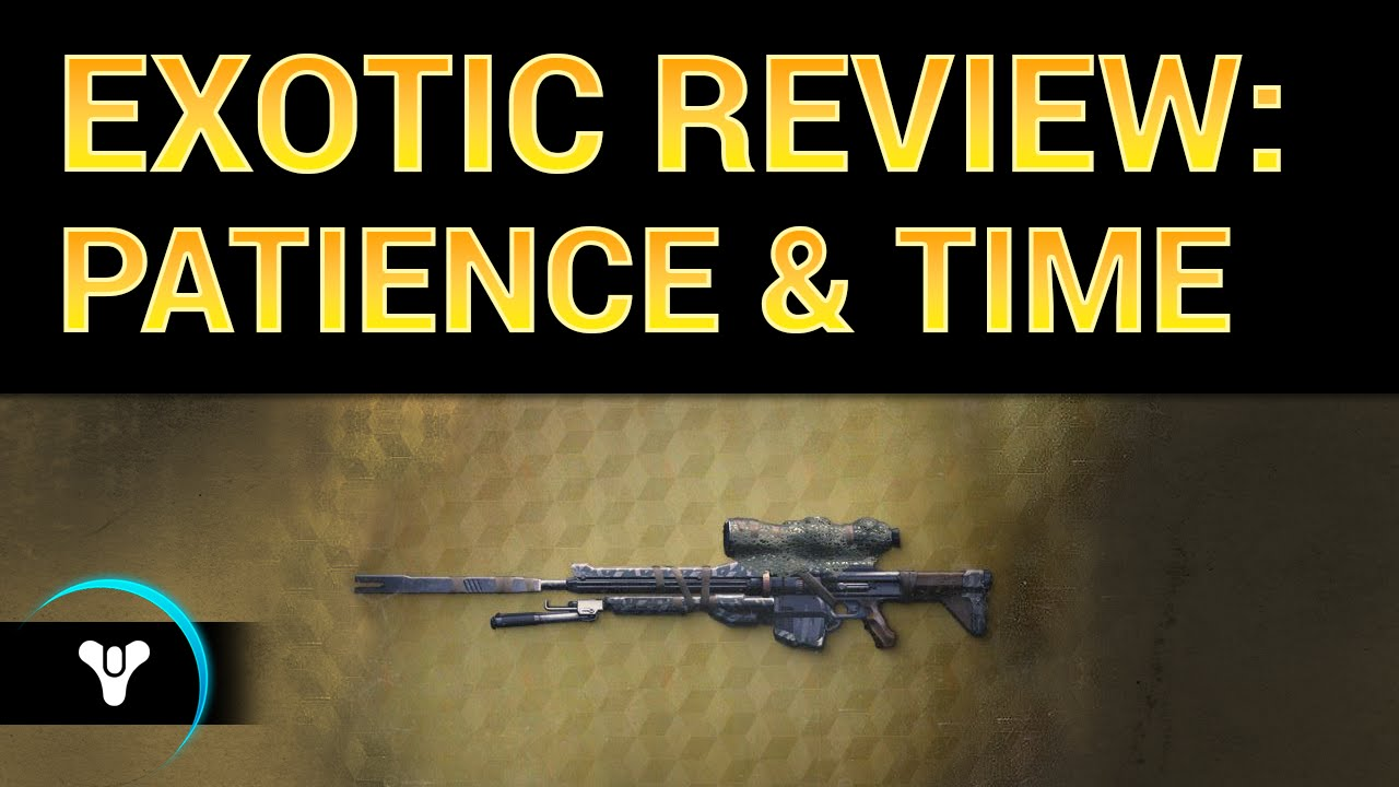 Planet Destiny: Patience and Time Exotic Review - YouTube