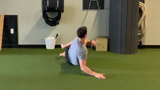 Thoracic Spine Rolling in Tight Spaces