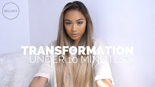 Video Mia Randria's Quick Transformation (Under 10 Minutes) with Bellami Clip-In Hair Extensions download MP3, 3GP, MP4, WEBM, AVI, FLV November 2019
