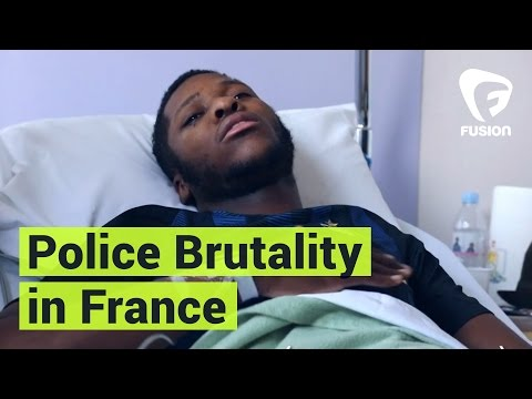 "Police Brutality in France Sparks Protests, ""Stop Making War"""