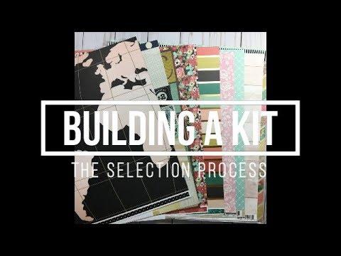 Building a Scrapbook Kit // Selection Process