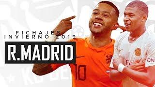 FICHAJES que debe hacer REAL MADRID - Mercado Invernal 2019
