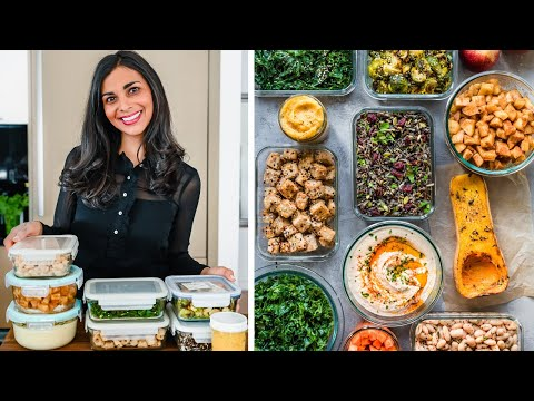 VEGAN MEAL PREP FOR WINTER   8 ingredients for healthy meals