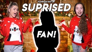 WE SURPRISED A FAN AT THEIR HOUSE! VLOGMAS DAY 9 2019