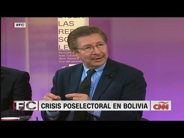 CNN. Bolivia víctima de fraude en resistencia civil