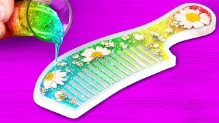 Wonderful Epoxy Resin DIY Crafts That You Will Adore    DIY Jewelry, Mini Crafts And Accessories