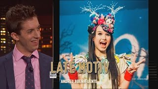 LATE MOTIV - David Broncano. Superestructuras y Eurovisión| #LateMotiv70