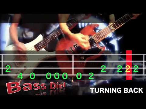 TURNING BACK/Hi-STANDARD【COVER】BASS DIET