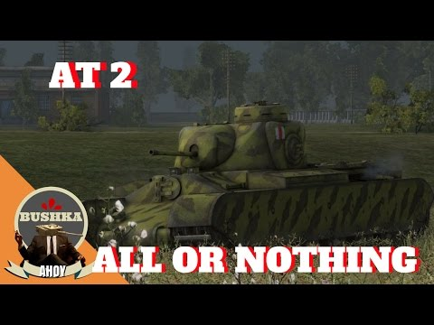 The AT2 All or Nothing World of Tanks Blitz
