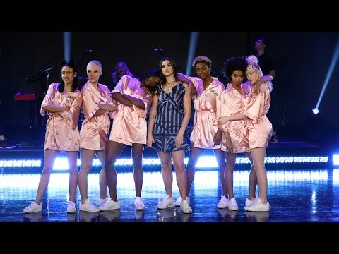 Dua Lipa Shows Ellen Her New Rules