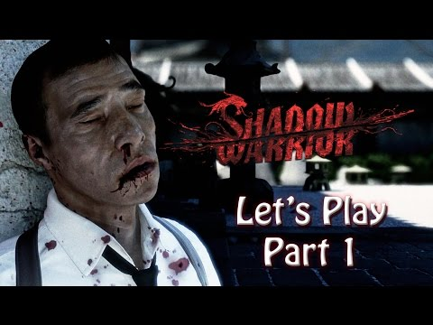 Shadow Warrior Let's Play (Part 1) - Easter Eggs - PS4 - Amazon Prime Free Trial Offer Below