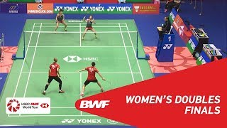 Download Video F | WD | FUKUSHIMA/HIROTA (JPN) [1] vs LEE/SHIN (KOR) [7] | BWF 2018 MP3 3GP MP4