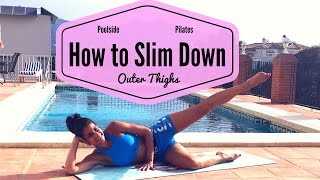 Poolside Pilates How to Slim Down your Outer Thighs