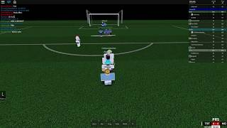 ROBLOX PRS ? Perfect Freekick Ejemplo ft. Spurs Trialistas