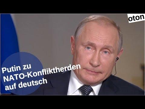 Putin zu NATO-Konfliktherden auf deutsch