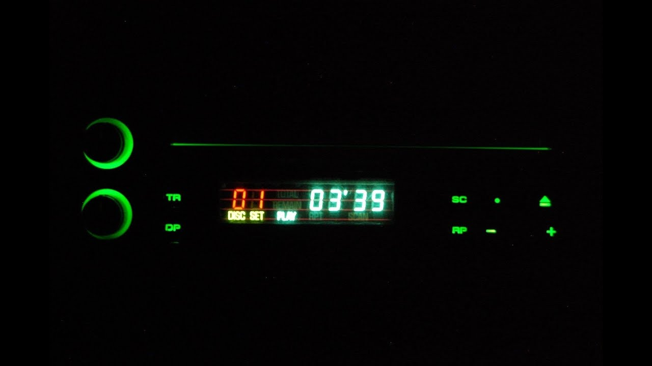 Old Style Car Stereo