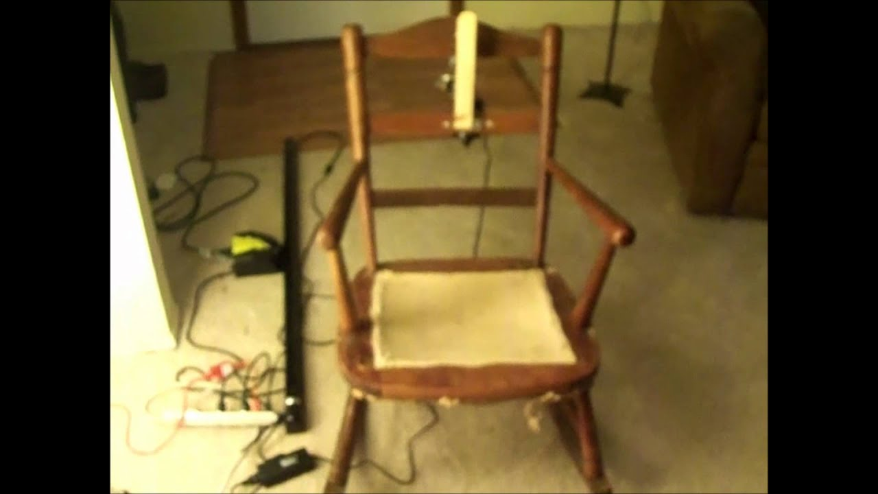 & Automated Rocking Chair Prop - YouTube