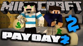 SANAT GALERİSİ ! - PAYDAY 2 - Minecraft Özel Haritalar w/AzizGaming