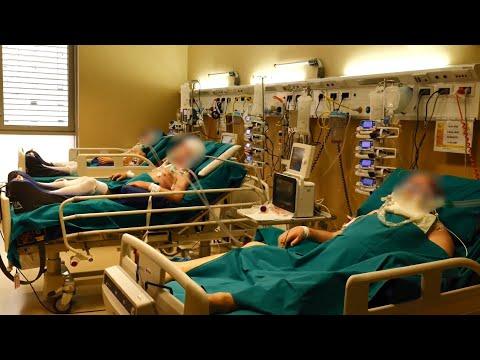 Видео из итальянской клиники, переоборудованной для лечения пациентов с коронавирусом
