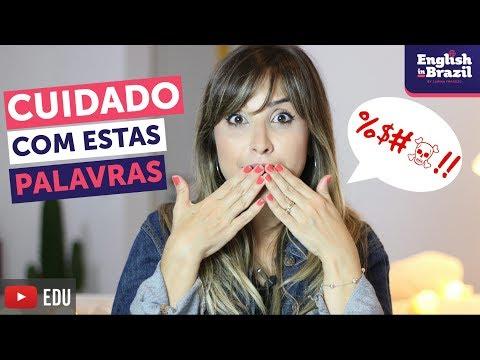 ERROS constrangedores em inglês: CUIDADO 🙈| English in Brazil