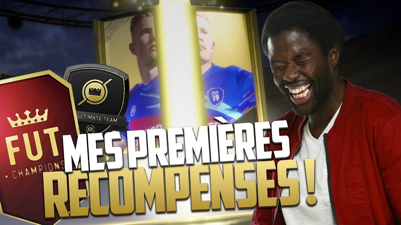 FIFA 19 - MES PREMIÈRES RÉCOMPENSES !