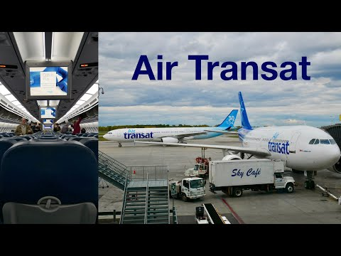 ✈ FLIGHT REPORT - Air Transat A310 - Montreal to Toronto (TS496) YUL-YYZ