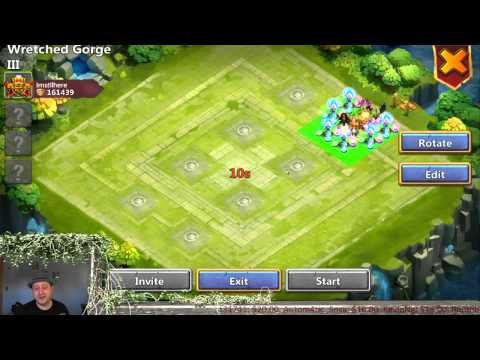 Castle Clash - Beat WG3 Solo & Made WG2 Solo Farmable(Ghoulem & DD)