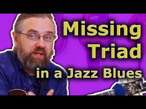 The Missing Triad in your Jazz Blues Chords - Simple and Easy