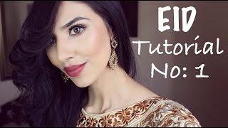 TUTORIAL   Eid Look 1
