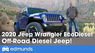 2020 Jeep Wrangler Diesel Review - On and Off-Road With the New EcoDiesel Engine