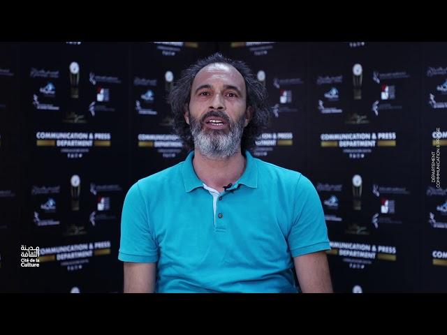 الفنان عبد القادر بن سعيد يتحدث عن العروض الختامية لمخبر التكوين في المسرح