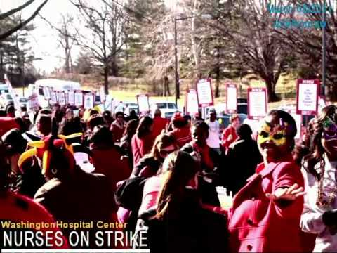 Nurses on Strike: Washington Hospital Center