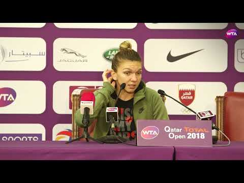 2018 Qatar Open press conference: Simona Halep on playing Bellis next 'I feel old'