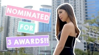 Nominated for 3 Influence Asia Awards!!! (Philippines) | Janina Vela