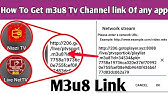 extract live tv links from apks - YouTube