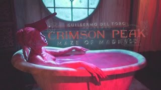 Crimson Peak: Maze of Madness maze highlights at Halloween Horror Nights