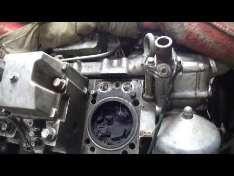 Сломанный болт в блоке двигателя КАМаз