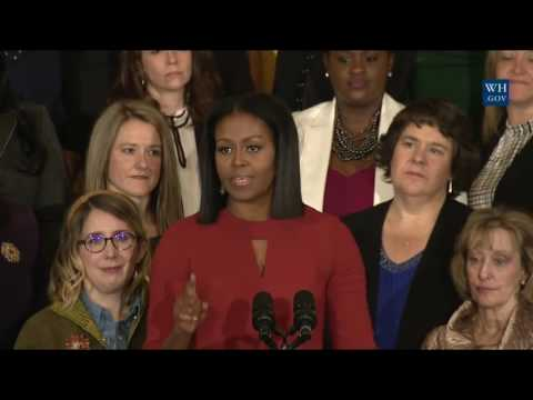 Michelle Obama's Emotional Final Message...