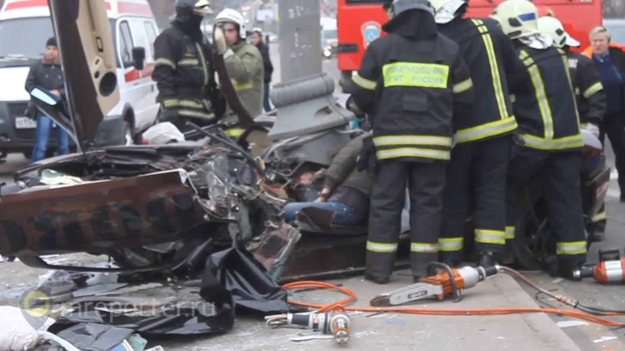 авария в иркутске ламборджини