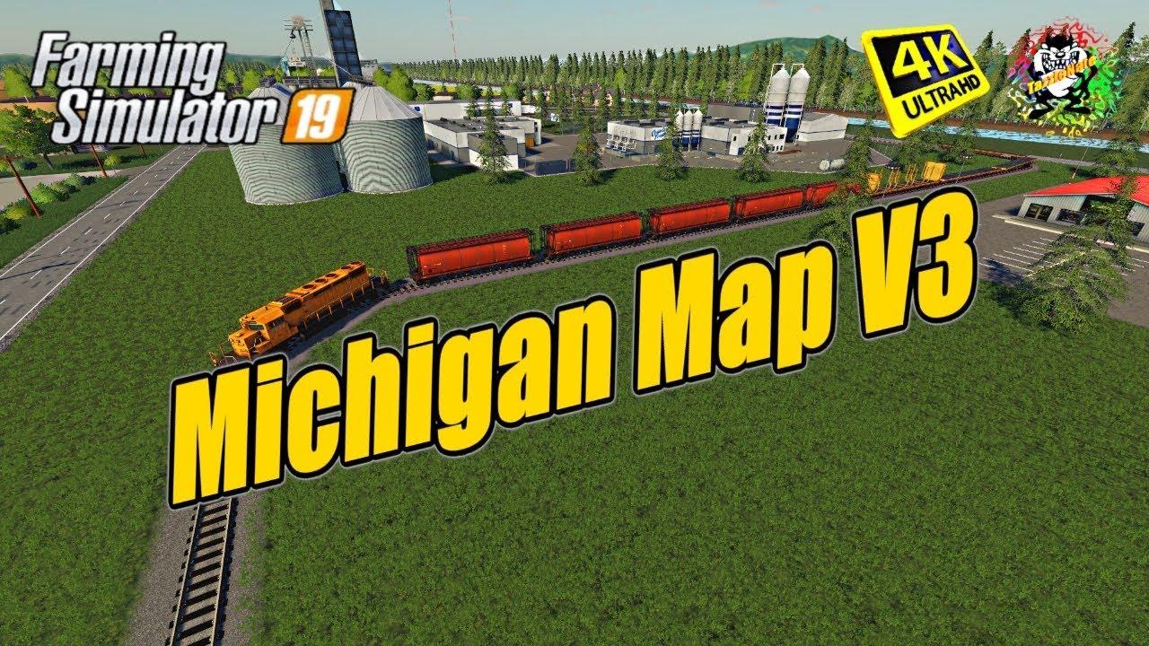 Michigan Map Seasons Ready v3 5 | FS19 mods, Farming