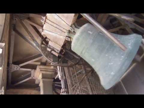 St Marks Bell Tower Ringing Bells - Venice, Italy HD