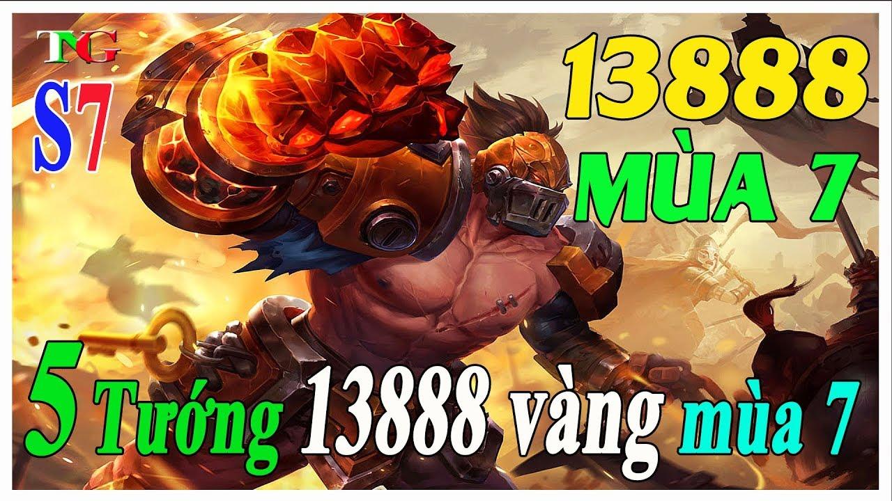 Liên quân mobile Top 5 Tướng 13888 vàng Đáng Mua Leo Rank tại mùa 7 chung  kết thế giới- TNG